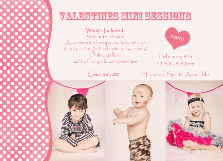 Valentines Mini Sessions, Commerce Photography