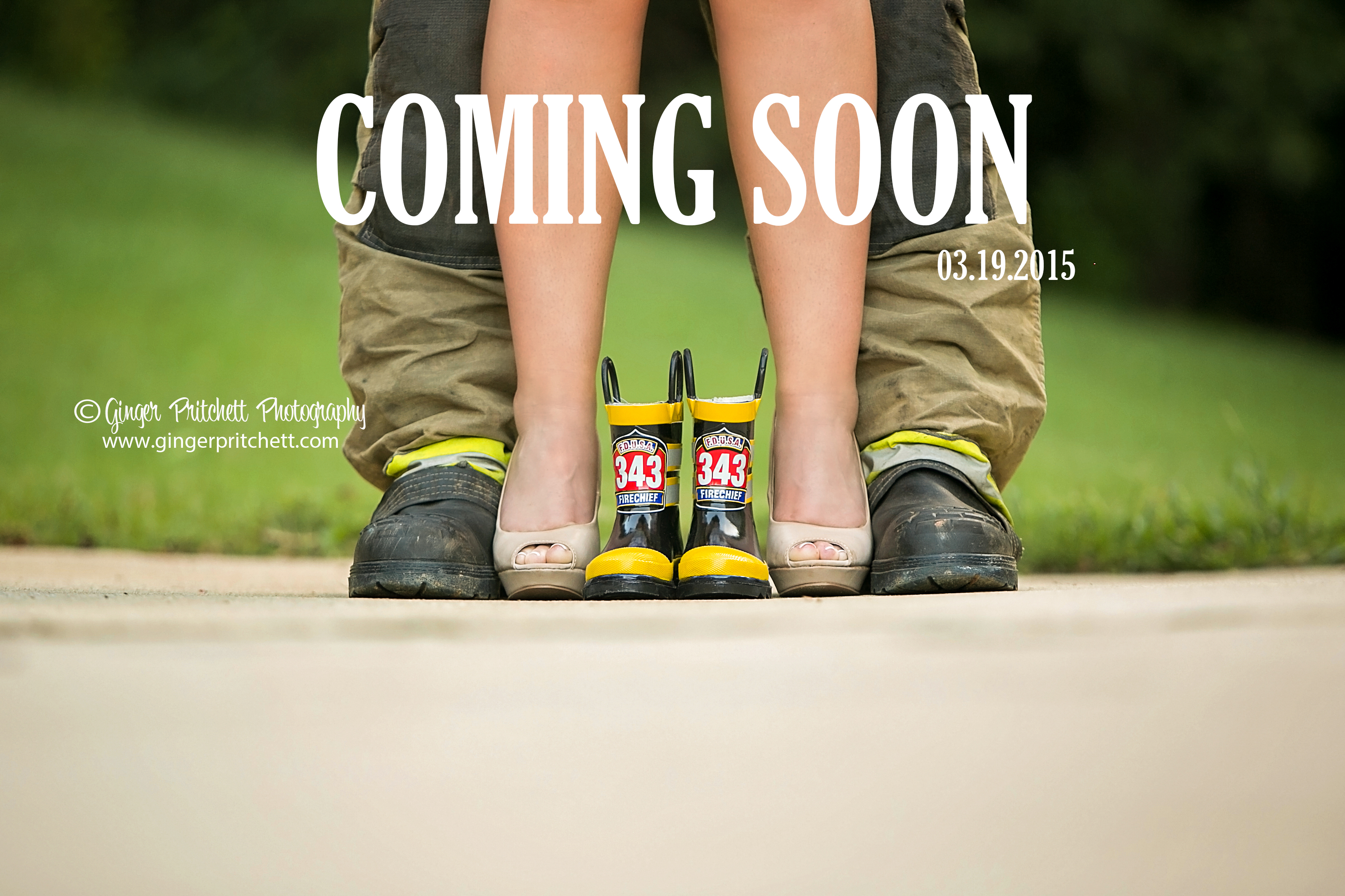 Baby on the way Announcement Session by Ginger Pritchett Photography – Baby on the Way Announcement